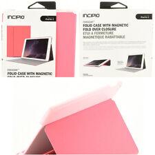 Incipio Faraday Folio Flip Cover Case w/Stand For iPad Air 2  - Coral Pink