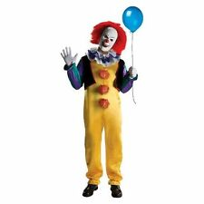 Adult Pennywise Creepy Clown Stephen King It Movie Complete Costume Ru881562