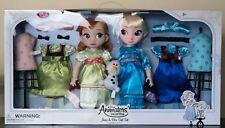 Disney Animators' Collection ANNA & ELSA Gift Set Exclusive (new) olaf doll MIB