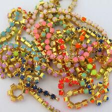 3D acrylic nail art decoration rhinestones beads chain nail supplies accessories