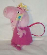 Princess Peppa pig Soft Plush bean toy. TY. 8 inches high