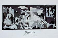 Pablo Picasso•Guernica 1937•Art Poster 24x36 O/P •Epic Anti-War Mural