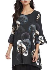 Bryn Walker Phryne Dress Tunic Dandelion XL NWT $188 Polyester Stretch Hi-Low