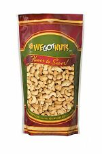 We Got Nuts Roasted Salted Cashews 4 Lb Bulk Bag