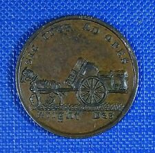 More details for scotland, dundee, conder farthing 1797. horse & cart / trades hall.  good