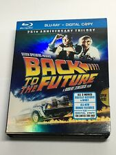 Back To The Future 25th Anniversary Trilogy 1-3 (Blu-ray movie 6 disc)