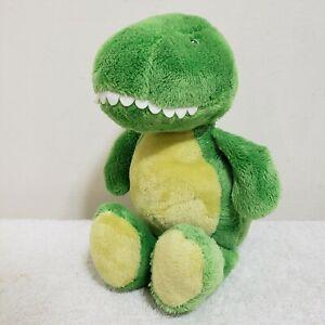 Carters Green Yellow Plush Dinosaur Baby Toy Stuffed Animal 67192 Lovey