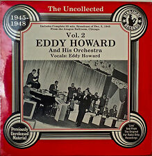 THE UNCOLLECTED EDDY HOWARD AND HIS ORCHESTRA VOL. 2-SEALED1980LP PREV UNREL