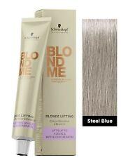 Schwarzkopf BlondeMe Blonde Me Toning Pastel Toner hair color STEEL BLUE 60ml
