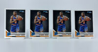 (4 Card Lot) 2019-20 Panini Donruss RJ Barrett  Rated Rookie RC #203 Knicks