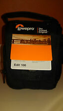 Lowepro Padded Camera Bag Edit 100, Small, Compact, NWT