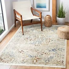 Ossett Colourful Distressed Medallion Transitional Rug - 4 Sizes *FREE DELIVERY
