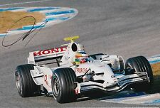 Mike Conway Hand Signed Honda F1 12x8 Photo 6.