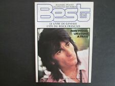 BEST N°134 SEPT. 1979 ROLLING STONES / RON WOOD  POSTER POLICE / TELEPHONE TTBE