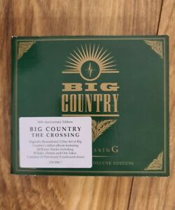 Big Country The Crossing 2CD 30th Anniversary Deluxe Edition Digipak RARE OOP