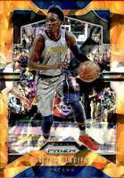 2019-20 Panini Prizm Prizms Orange Ice #114 Victor Oladipo Indiana Pacers