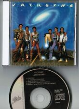 MICHAEL JACKSON-JACKSONS Victory JAPAN CD 35.8P-50 '84 1st issue w/28-p BOOKLET