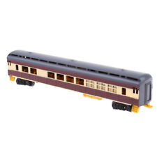 1/87 Simulation Electric Track Train Freight Cars Model Railway Carriages D