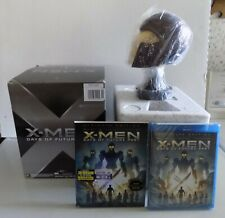 X-Men Days of Future Past NEW ultimate edition Blu-ray 3D plus Magneto helmet
