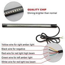 Flexible Tail Led Strip 48 Leds Stop Light Motorcycle Auto Turn Signal Brake