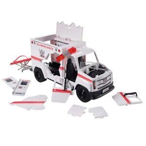WWE Wrekkin Slambulance Ambulance Vehicle NEW 2020 Stretcher Breakway Gift Toy