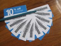 20ⅹ Lowes 10% ᴏff Competitor Coupon Cᴀʀᴅs | Home Depot | ᴇxp SEPTEMBER 9/15/2021
