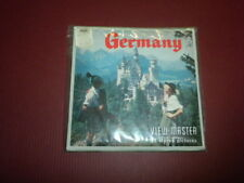 GERMANY Viewmaster 3 reel set with SOUVENIR PAK - factory sealed