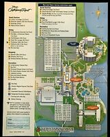 NEW 2021 Walt Disney World Contemporary Resort Map + 4 Theme Park Guide Maps