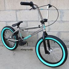 "2018 FIT BIKE CO BMX EIGHTEEN 18"" CHROME BICYCLE SUNDAY PRIMO KINK HARO CULT"