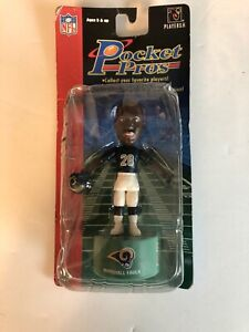 Pocket Pros NFL Los Angeles Rams Marshall Faulk Collectible Toy 2003 St Louis