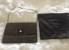 Kate Spade Knock on Wood Grain Madison Purse Shoulder Bag Clutch Gorgeous!
