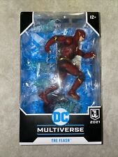 """DC Multiverse McFarlane The Flash Justice League Zack Snyder Movie 7"""" NEW"""
