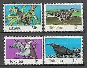 Tokelau - Post Yvert 57/60 MNH Fauna Vogel