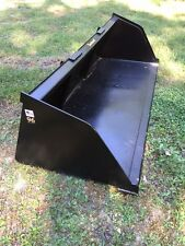 "New 90"" Skid Steer/Tractor Snow/Mulch 7 1/2' Bucket-for Bobcat, Case, Cat & more"