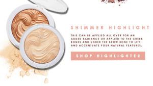 MUA Undress Your Skin Highlighting Powder - Shimmer Highlighter Strobing Contour