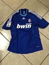 Real Madrid Raul Era Spain Player Issue Formotion Shirt Football Adidas Jersey