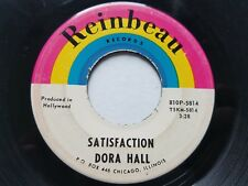 "DORA HALL - Satisfaction / 5 O'Clock World 1966 POP ROCK 7"" Reinbeau Records"