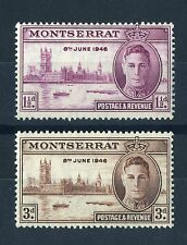 Mint Never Hinged/MNH Postage Montserratian Stamps