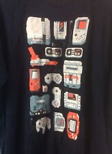 Nintendo Video Game Consoles Shirt 2XL NES SNES N64 Gameboy Zapper Teefury