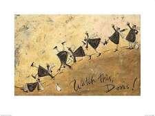 Watch This Doris! Sam Toft Fantasy Art Print 24x18 Image Conscious
