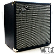 "Fender Rumble 40 - 40 Watt 1x10"" Bass Guitar Combo Practice Amp - Silver Face"