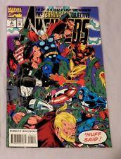 THE TERMINATRIX OBJECTIVE AVENGERS #4 Marvel Comics 1993