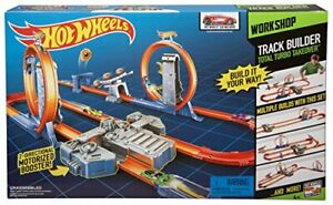Hot Wheels Track Builder Total Turbo Takeover Track Set ( Exclusive)