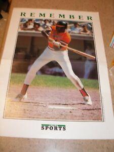 "Inside Sports 11x15 ""Remember"" Poster - Willie McCovey San Francisco Giants HOF"