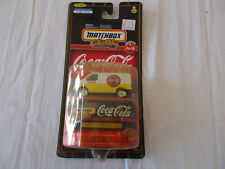 1998 Coca-Cola Matchbox Collectibles 1955 Ford Transit Van-(#37980) 1/64