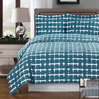 Luxury Norwich Duvet Cover Set 100% Cotton Ultra Soft 3PC Duvet + 2 Pillow Shams