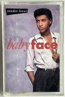 BABYFACE Tender Lover Cassette Tape - 1989 CBS FZT 45288 R&B