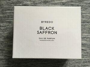 Byredo Black Saffron Eau De Parfum Authentic 100 ml 3.3 fl. oz. New In Box