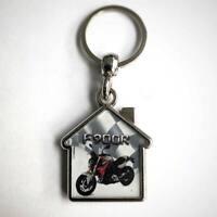 F900R Motorrad Schlüsselanhänger Form Haus
