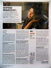COUPURE DE PRESSE-CLIPPING : Sophie MARCEAU 11/2015  Une histoire d'âme